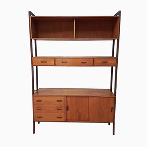 Mid-Century Danish Shelving Unit