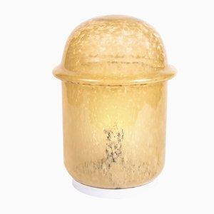 Lámpara de mesa vintage de vidrio de Osvětlovací sklo Valašské Meziříčí