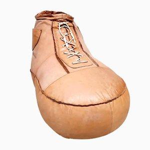 Puf Sneaker vintage de cuero de De Sede