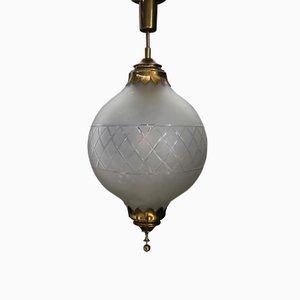 Lámpara colgante vintage de Arredoluce, años 40