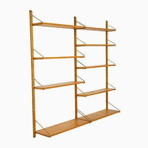 Ash Royal System Shelving Unit by Paul Cadovius for Cado, 1960s