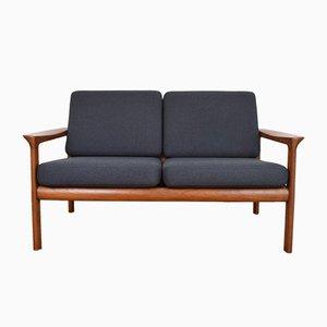 Sofá danés Mid-Century de Sven Ellekaer para Komfort, años 60