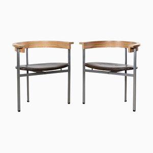 PK11 Stühle von Poul Kjaerholm für E Kold Christensen, 1960er, 2er Set