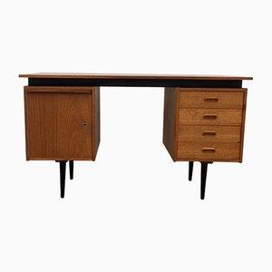 Mid-Century Schreibtisch aus Teak von Cees Braakman für Pastoe, 1950er
