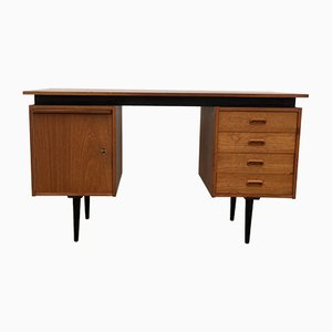 Mid-Century Teak Desk by Cees Braakman for Pastoe, 1950s