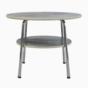 Table d'Appoint Industrielle Vintage par WH Gispen, 1950s