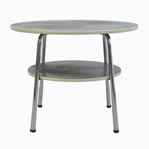 Vintage Industrial Side Table by W.H. Gispen, 1950s