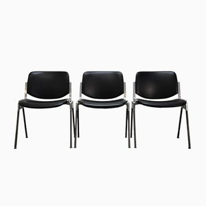 Vintage Stuhl von Giancarlo für Castelli