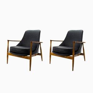 Dänische Vintage Sessel von Ib Kofod-Larsen, 2er Set