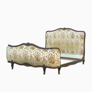 French Demi Corbeille Double Bed, 1920s