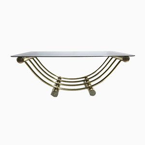 Brass Coffee Table from Belgo Chrom, 1970s