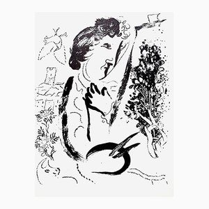 Lithograph by Marc Chagall, 1963