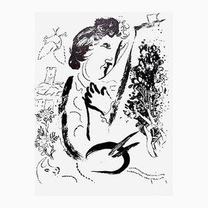 Litografía de Marc Chagall, 1963