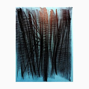Lithograph by Hans Hartung, 1964