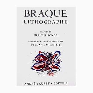 Lithografie von Georges Braque, 1963
