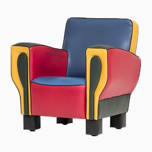 Vintage Hip Hop Easy Chair by Peter Van Zoetendaal for Dutch Seating Company