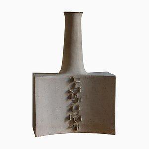 Skulpturale Vase von Bruno Gambone, 1982
