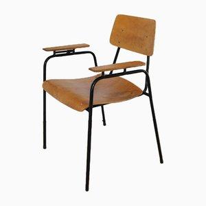 Butaca universitaria modernista, años 50