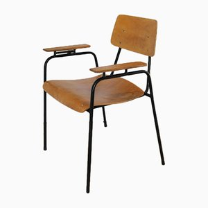 Modernist University Armchair, 1950s