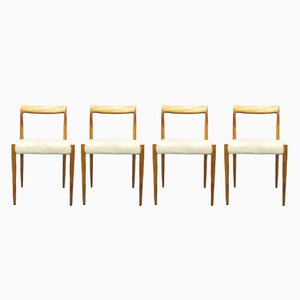 Teak Chairs from Lübke, 1960s, Set of 4