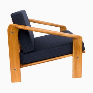 Mid-Century Polish Armchair by Zenon Bączyk for ŁAD Cooperative