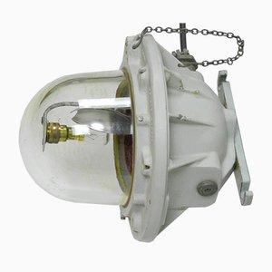 Große industrielle Großraumlampe von ATX Legrand, 1960er