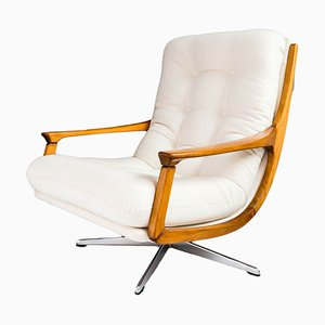 Mid-Century German Swivel Armchair, 1970s