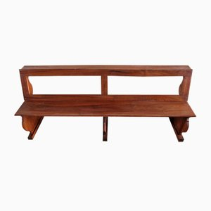 Antique Italian Church Bench