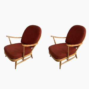 Easy Chairs by Luciano Ercolani, 1960s, Set of 2