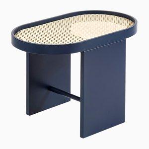 Tavolino Piani in acciaio blu di Patricia Urquiola per Editions Milano, 2019