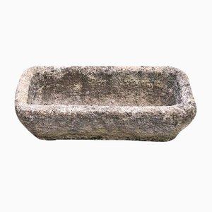 Maceta pequeña de piedra, años 50