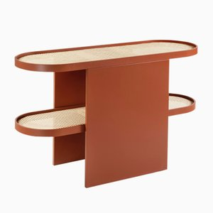 Copper Colored Piani Console Table by Patricia Urquiola for Editions Milano, 2019