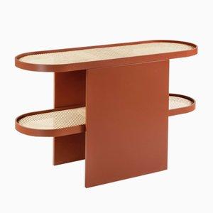 Kupferfarbener Piani Konsolentisch von Patricia Urquiola für Editions Milano, 2019