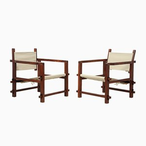 Brasilianische Mid-Century Sling Chairs, 2er Set