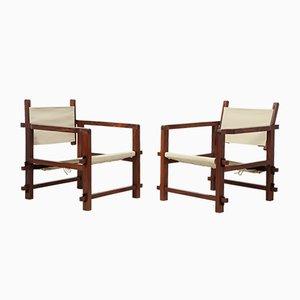 Mid-Century Brazilian Sling Chairs, Set of 2