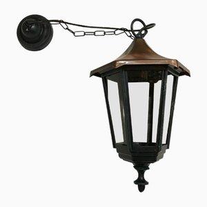 Vintage Gartenlampe