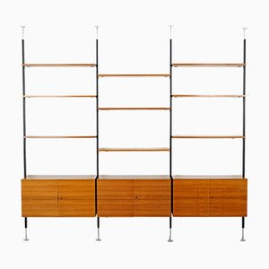 Large Shelving Unit by Ulrich P. Wieser for Bofinger, 1950s