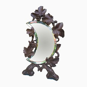 19th-Century Crescent Moon Mirror