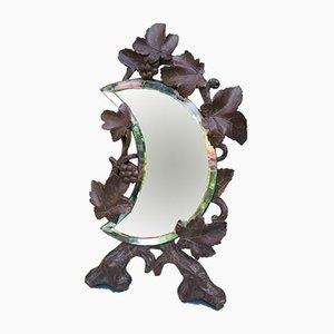 Mondförmiger Spiegel,19. Jh.