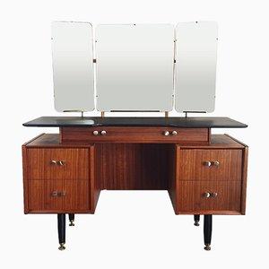 Toeletta vintage con tre specchi di Donald Gomme per G-Plan