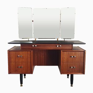 Vintage Three Mirror Floating Dressing Table by Donald Gomme for G-Plan