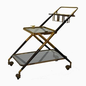 Vintage Bar Trolley by Cesare Lacca