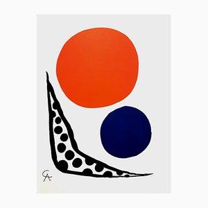 Lithograph by Alexander Calder for L'Atelier Mourlot, 1964