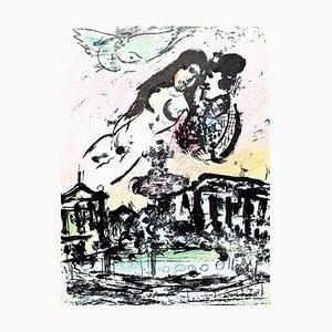 Lithografie von Marc Chagall, 1963