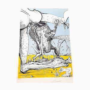 Les Songes Drolatiques Lithograph by Salvador Dalí­, 1973