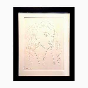 Woman Lithograph by Henri Matisse for Fabiani Editions, 1943