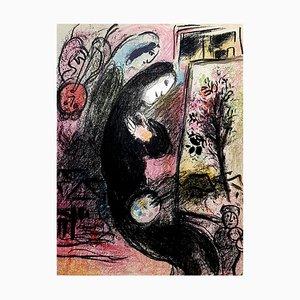 Lithographie Inspiration par Marc Chagall, 1963