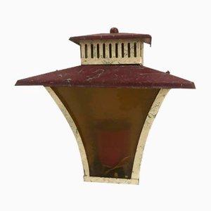 Art Deco Gartenlampe