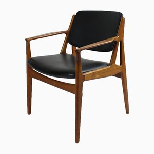 Vintage Tilt Back Ella Chair by Arne Vodder for Vamø