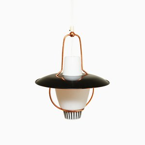Norwegian Pendant Lamp from Høvik Verk, 1950